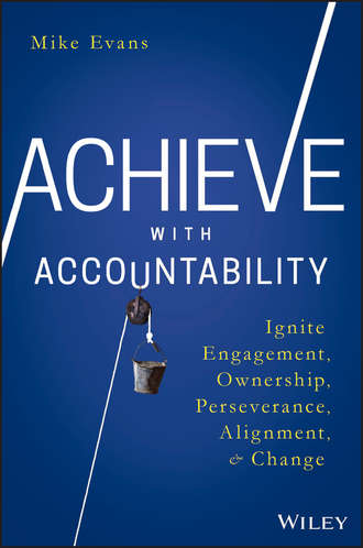 Mike  Evans. Achieve with Accountability. Ignite Engagement, Ownership, Perseverance, Alignment, and Change