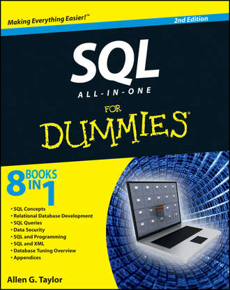 Allen Taylor G.. SQL All-in-One For Dummies