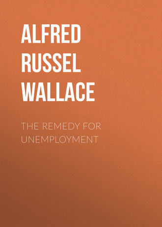 Alfred Russel Wallace. The Remedy for Unemployment