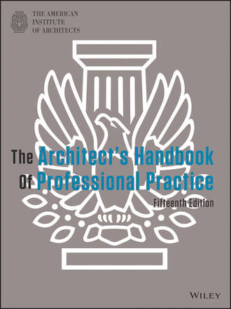 American Instituteof Architects. The Architect's Handbook of Professional Practice